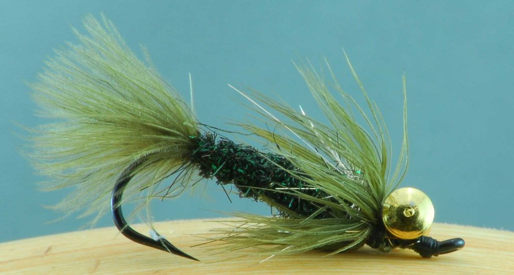 Winnipeg Fly Tyer Robert Burton Eyed Flmph