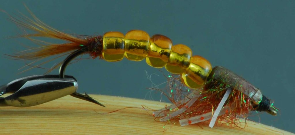 Winnipeg Fly Tying Robert Burton Olive Stone Fly Brown
